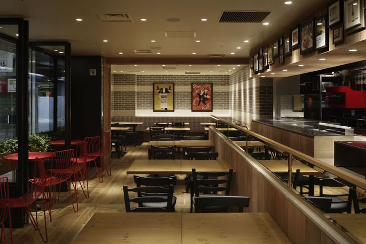 レストランやカフェ、バー